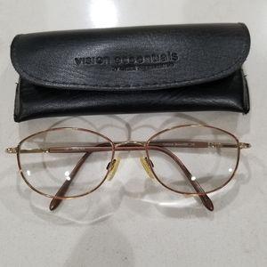 Marchon prescription glasses w/case